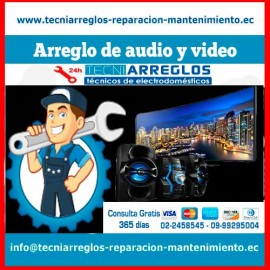 Arreglo de audio y video