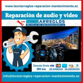 Reparación de audio y video.