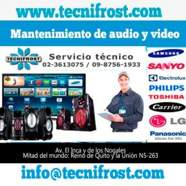 Mantenimiento de audio y video.