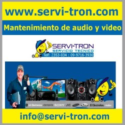 Mantenimiento de audio y video servitron