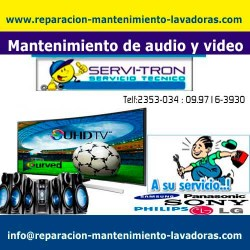 Mantenimiento de audio y video reparacion-mantenimiento-lav