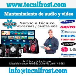 Mantenimiento de audio y video tecnifrost
