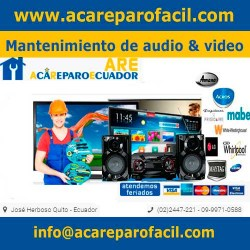 Mantenimiento de audio y video acareparo