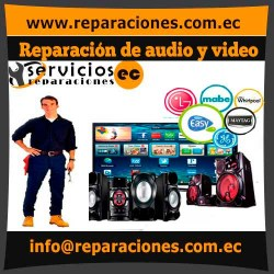 Arreglo de audio y video reparacionesec